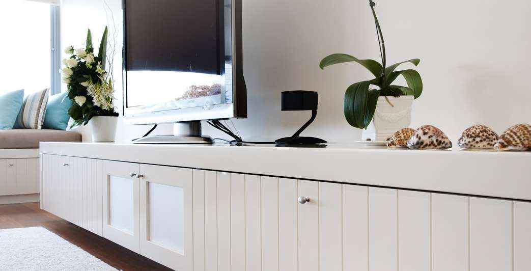 Custom Entertainment Unit | Ikal Kitchens